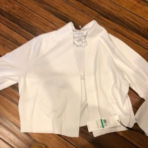 Calvin Klein Sweaters - White Sweater Large NEW with Tags